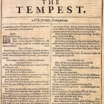 The Tempest, title page