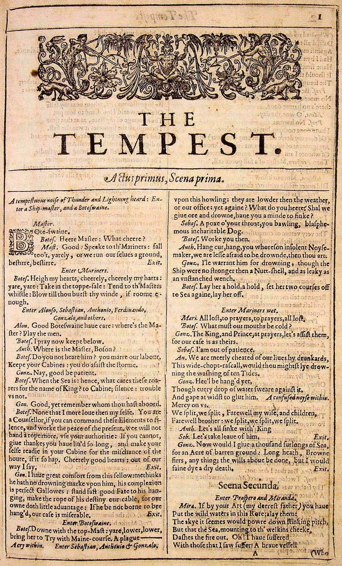 william shakespeare the tempest arts one open william shakespeare the tempest