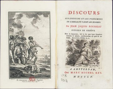 Jean-Jacques Rousseau, Discourse on Inequality