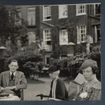 T S Eliot, with his sister and cousin