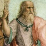 Plato, from Raphael, The School of Athens