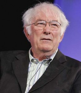 Irish poet Seamus Heaney, whose work was (allegedly) plagiarized by Andrew Slattery