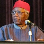 Chinua Achebe speaking at Asbury Hall, Buffalo, in 2008