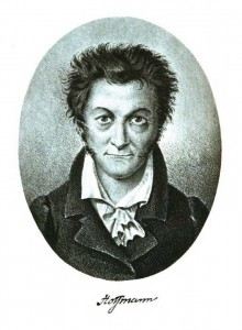 Self-portrait of E.T.A. Hoffmann, public domain at Wikimedia Commons