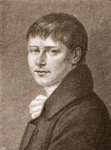 Heinrich von Kleist, public domain on Wikimedia Commons